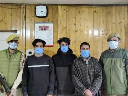 Three LeT terror associates held in J-K's Budgam | Three LeT terror associates held in J-K's Budgam