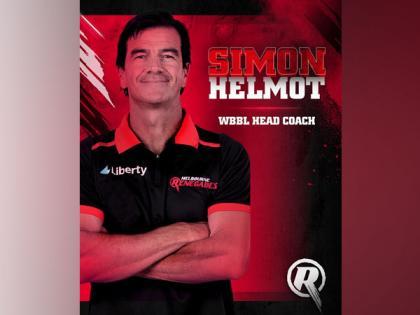 WBBL: Melbourne Renegades appoint Simon Helmot as new head coach | WBBL: Melbourne Renegades appoint Simon Helmot as new head coach
