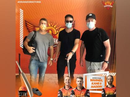 IPL 2021: Warner, Williamson arrive in Chennai to join SRH camp | IPL 2021: Warner, Williamson arrive in Chennai to join SRH camp
