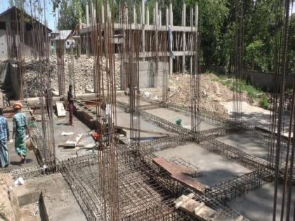 Construction of 50-bed AYUSH hospital in full swing in J-K's Kupwara   Construction of 50-bed AYUSH hospital in full swing in J-K's Kupwara