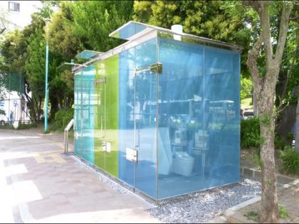 Tokyo prepares transparent toilets for public convenience | Tokyo prepares transparent toilets for public convenience