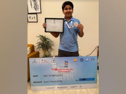 Aptech Trained - Revant Mehra, a 12- year-old bags a silver medal at the Maharashtra State Skill Competition 2021 | Aptech Trained - Revant Mehra, a 12- year-old bags a silver medal at the Maharashtra State Skill Competition 2021
