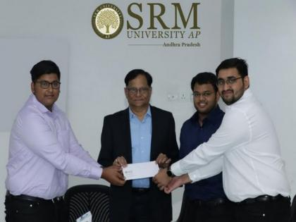 Maiden batch of SRM AP Students create record with incredible startup | Maiden batch of SRM AP Students create record with incredible startup