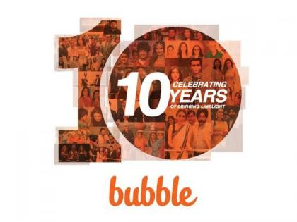 "Celebration is the new marketing buzz word as Bubble Communication celebrates 10 years of ""bringing limelight""   Celebration is the new marketing buzz word as Bubble Communication celebrates 10 years of ""bringing limelight"""