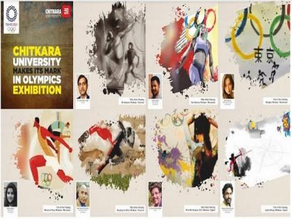 Chitkara University Students' Artwork makes it to Tokyo Olympics 2021 | Chitkara University Students' Artwork makes it to Tokyo Olympics 2021
