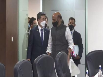 South Korea defence minister holds discussions with Rajnath Singh   South Korea defence minister holds discussions with Rajnath Singh