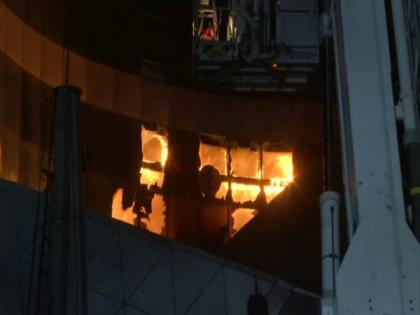 2 dead after fire breaks at COVID-19 hospital in Mumbai | 2 dead after fire breaks at COVID-19 hospital in Mumbai