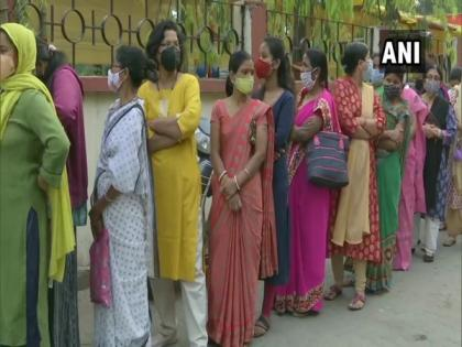Busiest polling day: Voting begins in 475 Assembly constituencies in Tamil Nadu, Kerala, Assam, Bengal, Puducherry | Busiest polling day: Voting begins in 475 Assembly constituencies in Tamil Nadu, Kerala, Assam, Bengal, Puducherry