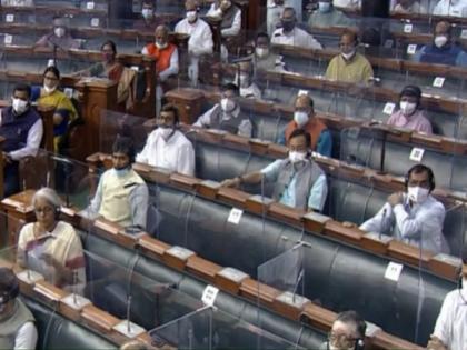 Monsoon session: Lok Sabha adjourned till 12 noon   Monsoon session: Lok Sabha adjourned till 12 noon