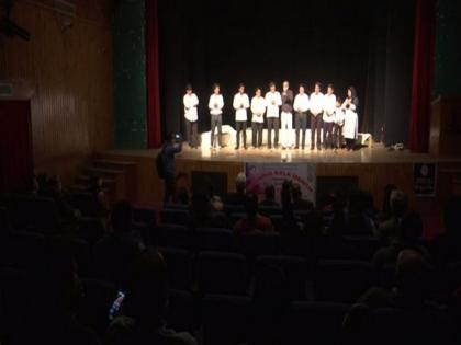 Kashmir youth continue to relish watching plays in theatre   Kashmir youth continue to relish watching plays in theatre