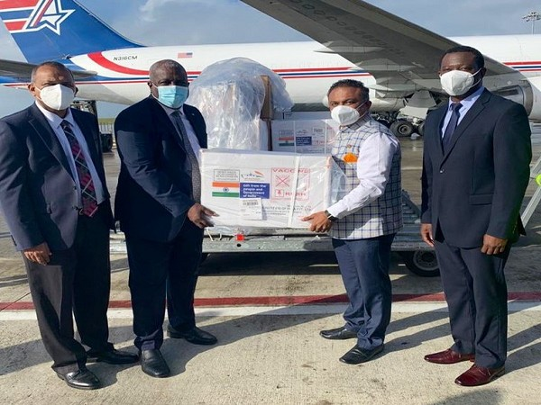 Guyana receives 80000 doses of COVID-19 vaccine from India - Lokmat