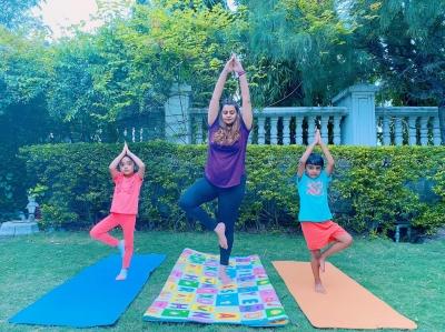 btown embraces asanas on international yoga day  english