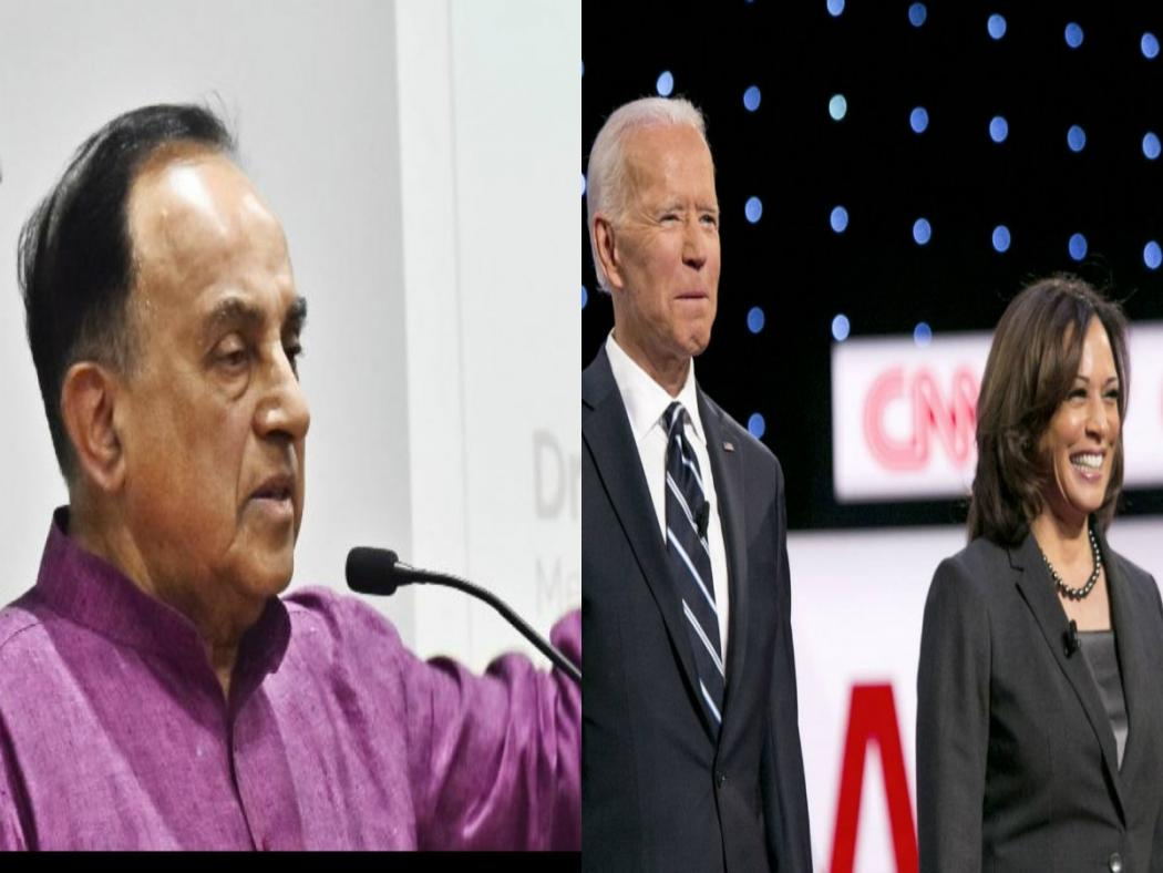 Kamala Harris Is Against Hindu Nationalismn Subramanian Swamy Wants Modi Govt To Be Cautious Of Us After Trump S Exit English Lokmat Com