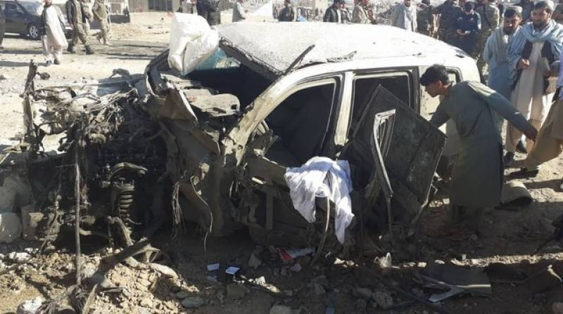 Suicide bombing in Afghanistan kills 26 security personnel | english.lokmat.com