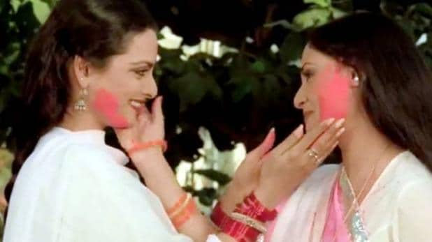 Famous Holi scenes from evergreen Bollywood movies   english ...