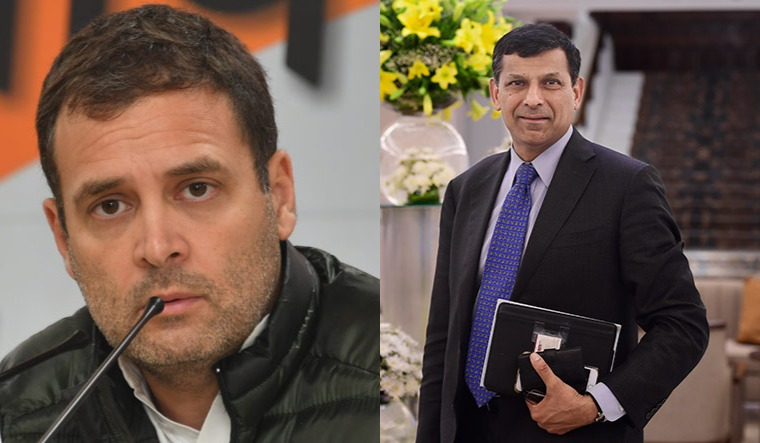 Live: Rahul Gandhi's interaction with Dr. Raghuram Rajan on ...