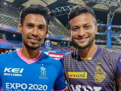 Shakib, Mustafizur likely to return for UAE leg of IPL 2021 | Latest Cricket News at english.lokmat.com