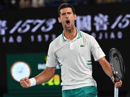 Novak Djokovic wins his 9th Australian Open title, defeats Daniil Medvedev | Novak Djokovic wins his 9th Australian Open title, defeats Daniil Medvedev