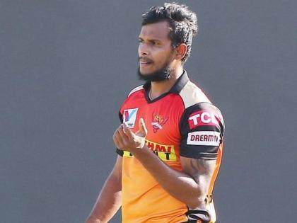 T Natarajan ruled out of IPL 2021 due to knee injury - Reports | T Natarajan ruled out of IPL 2021 due to knee injury - Reports
