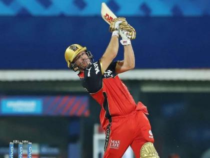 IPL 2021: AB de Villiers smashes 46-ball 104 in RCB's intra-squad practice match | IPL 2021: AB de Villiers smashes 46-ball 104 in RCB's intra-squad practice match