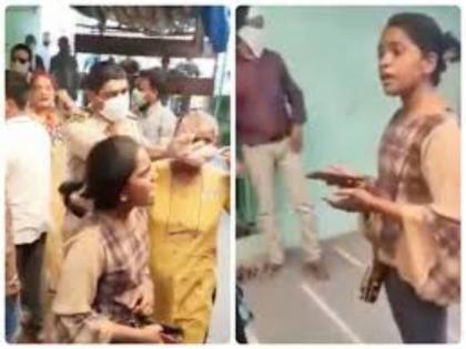 Mumbai Police sends warning notice to Karishma Bhosale for asking mosque to lower volume | Mumbai Police sends warning notice to Karishma Bhosale for asking mosque to lower volume