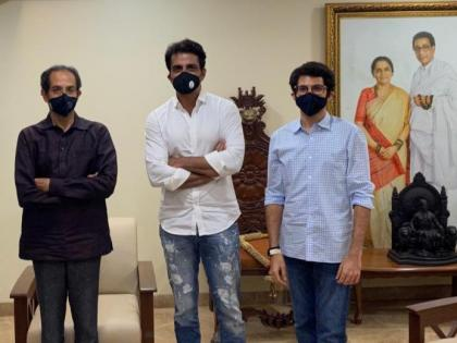 Shiv Sena hits out at BJP after IT raids actor Sonu Sood's home   Shiv Sena hits out at BJP after IT raids actor Sonu Sood's home