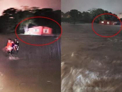 Mumbai Rain: Former MLA saves family trapped in waterlogged house   Mumbai Rain: Former MLA saves family trapped in waterlogged house