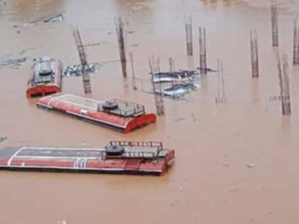 Maharashtra Flood: Chiplun bus stand submerged in water, shocking visuals go viral!   Maharashtra Flood: Chiplun bus stand submerged in water, shocking visuals go viral!