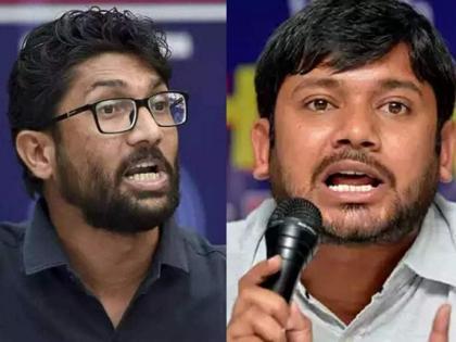 Kanhaiya Kumar & Jignesh Mewani join Congress in presence of Rahul Gandhi | Kanhaiya Kumar & Jignesh Mewani join Congress in presence of Rahul Gandhi