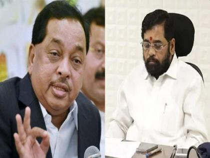 Union Minister Narayan Rane big claim ! Shiv Sena's Eknath Shinde may join BJP | Union Minister Narayan Rane big claim ! Shiv Sena's Eknath Shinde may join BJP