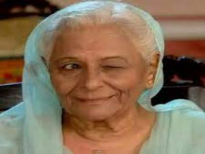 Veteran actress Tarla Joshi dies of cardiac arrest | Veteran actress Tarla Joshi dies of cardiac arrest