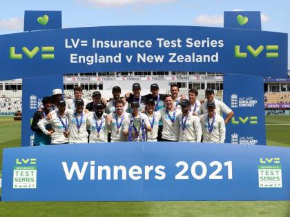 New Zealand win their first test series in England soil after 22 years   New Zealand win their first test series in England soil after 22 years
