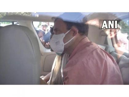 Delhi: Rahul Gandhi meets family of minor girl who was raped, murdered in Old Nangal crematorium   Delhi: Rahul Gandhi meets family of minor girl who was raped, murdered in Old Nangal crematorium