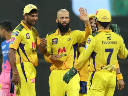 Moeen Ali's all-round effort gives Chennai a resounding win   Moeen Ali's all-round effort gives Chennai a resounding win