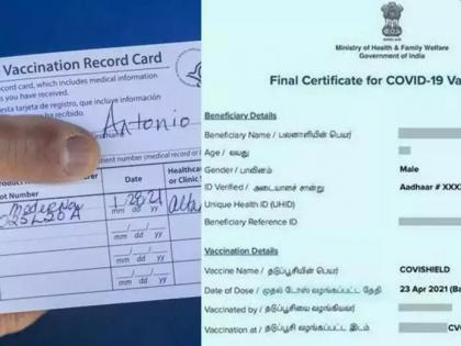 Covid Vaccine Certificate row: IAS officer slams UK for accepting handwritten slip | Covid Vaccine Certificate row: IAS officer slams UK for accepting handwritten slip