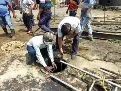 Ambernath: Three workers suffocate to death after falling in underground chemical tank   Ambernath: Three workers suffocate to death after falling in underground chemical tank