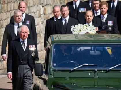 Prince Philip laid to rest as royal family bids tearful good-bye one last time | Prince Philip laid to rest as royal family bids tearful good-bye one last time