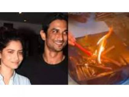 Sushant Singh Rajput Death Anniversary: Ankita Lokhande kept a havan for the late actor on his first death anniversary.