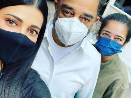 Shruti Haasan accused of trespassing polling booth during Assembly elections in Tamil Nadu   Shruti Haasan accused of trespassing polling booth during Assembly elections in Tamil Nadu