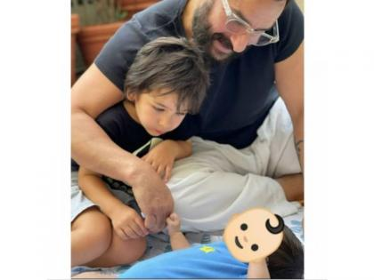Saif Ali Khan, Kareena Kapoor reveal name of second son - 'Jeh' | Saif Ali Khan, Kareena Kapoor reveal name of second son - 'Jeh'