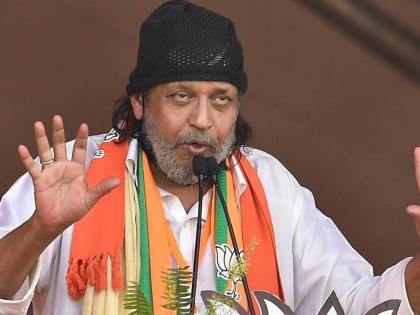 Kolkata police questions Mithun Chakraborty for his controversial speech during Bengal election campaign | Kolkata police questions Mithun Chakraborty for his controversial speech during Bengal election campaign