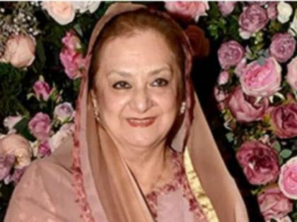 Saira Banu moved out of ICU, doctors refutes reports of actress battling depression | Saira Banu moved out of ICU, doctors refutes reports of actress battling depression