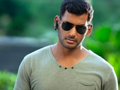 Tamil actor Vishal seriously injured while filming an action sequence   Tamil actor Vishal seriously injured while filming an action sequence