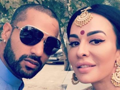 After 8 years together, Shikhar Dhawan and Ayesha Mukherjee announce divorce | After 8 years together, Shikhar Dhawan and Ayesha Mukherjee announce divorce