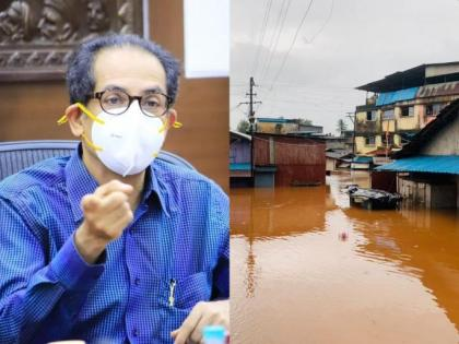 Maharashtra Flood: CM Thackeray holds emergency meeting to review flood situation in Ratnagiri, Raigad districts | Maharashtra Flood: CM Thackeray holds emergency meeting to review flood situation in Ratnagiri, Raigad districts