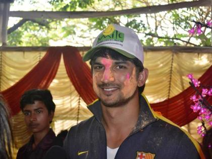 Holi 2021: Unseen video of Sushant Singh Rajput grooving on Rang Barse goes viral!   Holi 2021: Unseen video of Sushant Singh Rajput grooving on Rang Barse goes viral!