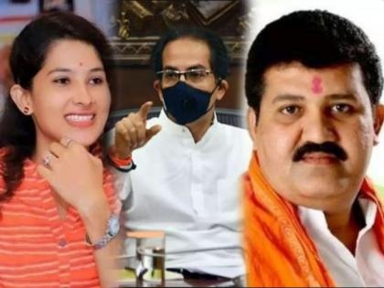 Video! Pooja Chavan Suicide Case: Sanjay Rathod visits Pohardevi temple with wife, supporters lay red carpet to welcome minister | Video! Pooja Chavan Suicide Case: Sanjay Rathod visits Pohardevi temple with wife, supporters lay red carpet to welcome minister