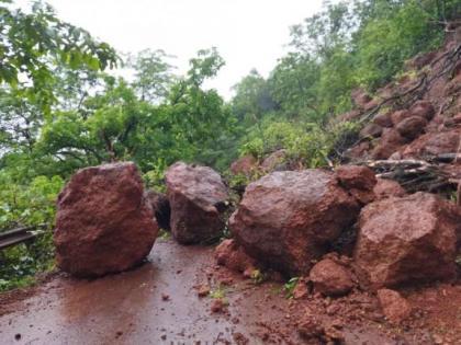Maharashtra: 5 dead in Raigad landslide | Maharashtra: 5 dead in Raigad landslide