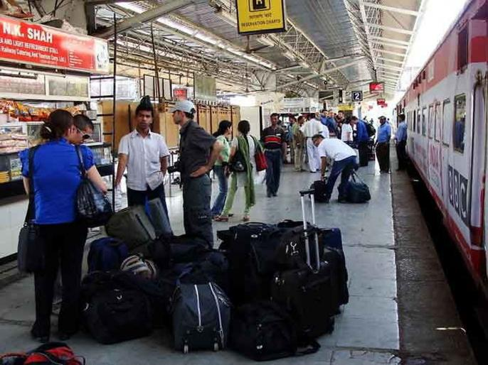 Bags On Wheels! Indian Railways launches service to deliver passengers' luggage to their homes | english.lokmat.com