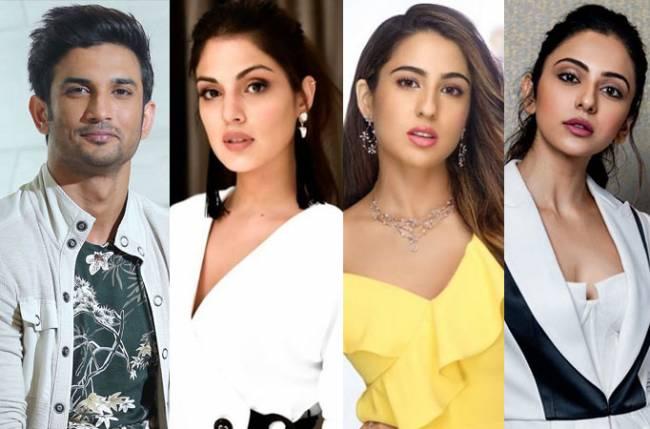 Rhea claims Sara Ali Khan and Rakul Preet Singh consumed drugs with Sushant  | english.lokmat.com